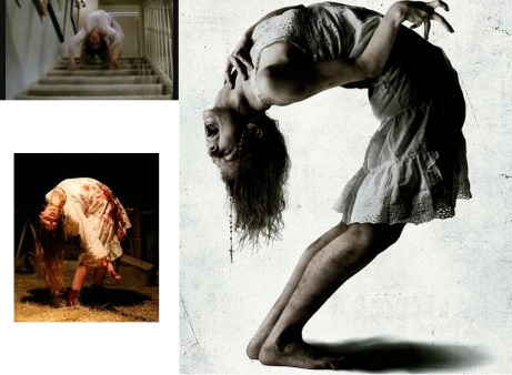 The Devil makes White girls do backbends:150 words on horror films